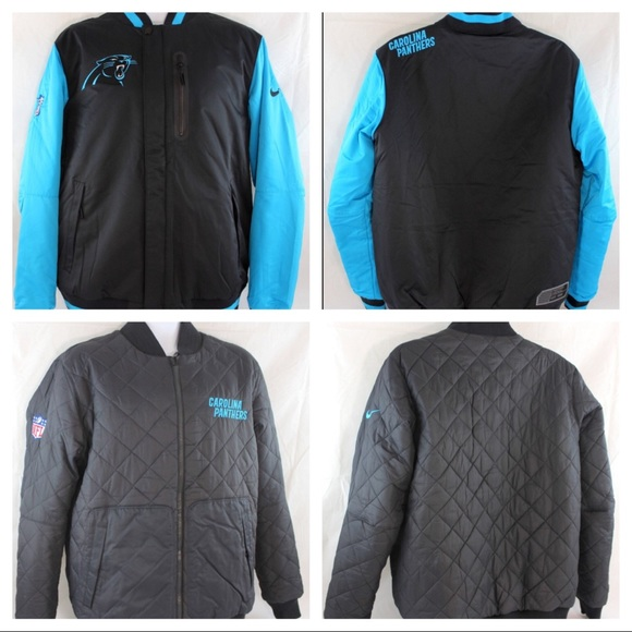 best sneakers 6eb0d 98e08 XL Nike NFL Carolina Panthers Destroyer Jacket